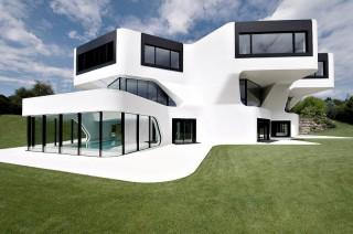 ultramodern architecture, German architecture, J.Mayer H., Dupli Casa, futuristic design, futuristic architecture