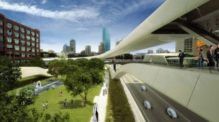 futuristic architecture, futurism in architecture, architecture trends, Shareway, future cities, Boswash, Höweler, Yoon Architecture, Audi