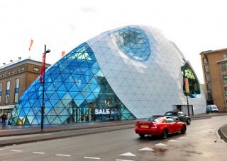 Eindhoven, Massimiliano Fuksas, Blob, Admirant, future structure, futuristic structure, futuristic city, future city, future building, modern Dutch architecture