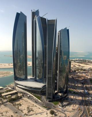 future, architecture, design, Etihad Towers, DBI Design, architecture project, futuristic buildings, future architecture, futuristic