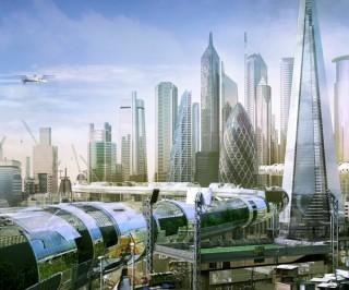 Future London, Futuristic City, Future Architecture, Simon Kennedy, Factory Fifteen