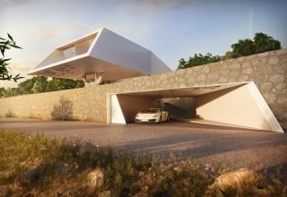 future, villa f, ornung and jacobi, architecture, future design, futuristic construction, futuristic buildings, futuristic interior, future homes, future buildings, futuristic
