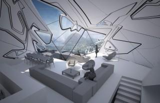 future, Lo Monaco, House concept, future home, futuristic houses, Tom Wiscombe, architectural designs, future architecture, futuristic