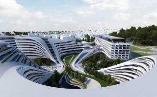 future, Beko Masterplan, Zaha Hadid, futurist architecture, Belgrade, patrik schumacher, futurist city, designs, future architecture, futuristic