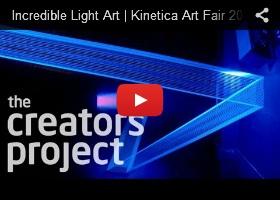 Incredible Light Art, Kinetica Art Fair 2013, Futuristic-Art