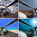 The Future of Aviation, IXION Windowless Jet Concept, Futuristic Airplane, Luxury Life