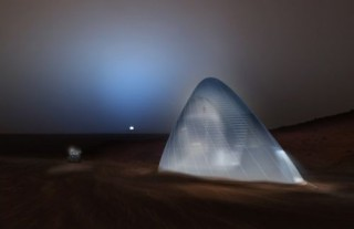 Space Future, The Future of Mars Exploration. Mars Ice House