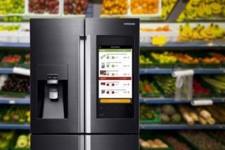 Fridges for the Future, CES 2016, Futuristic Kitchen, Samsung Smart Fridge App