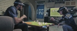 Futuristic Lifestyle, Augmented Reality, Microsoft Imagines The Future For NFL Fans With HoloLens
