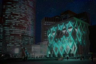 Glowee, A Vision Of Night-Time Lighting, Biolighting Living System, The Future of Energy, Futuristic Architecture