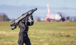 SkyWall: SkyWall100 Drone Defence System - A Man Portable and Cost Effective Counter Drone System, The Future of Warfare, Military Technology, Army, Weapon, Anti-Drone Bazooka