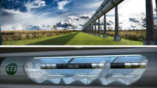 Futuristic Train, Hyperloop, Futuristic Vehicle, Elon Musk