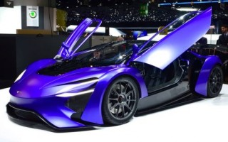 Techrules, turbine car, electric vehicle, AT96, GT96, TREV Electric Supercars, Geneva Motor Show 2016