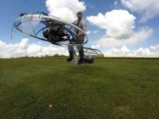 The Future of Aviation, Eccentric Plumber Builds Futuristic Hoverbike That Can Fly