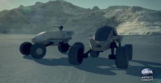 The Future of Warfare, DARPA, GXV-T, Ground X-Vehicle Technologies, Futuristic Vehicle, Military Technologies
