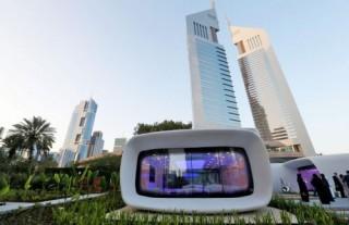 Futuristic Architecture, 3D Printed Building, Dubai, 3D Printed Office, 3D Printing