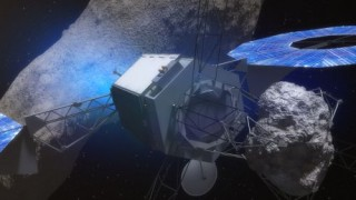 Asteroid Mining, Solar Electric Propulsion, Space Future, Asteroid Redirect Mission - Robotic Segment, NASA, Futuristic Technology
