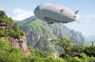 Futuristic Aircraft, Robotic Spiders, Lockheed Martin, LMH-1, Hybrid Airship, MEGABLIMP, Self-Propelled Instrument for Damage Evaluation and Repair