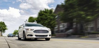 Futuristic Car, Self-Driving Vehicle, Driverless Cars, Ford Targets Fully Autonomous Vehicle for Ride Sharing in 2021