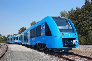 Coradia iLint - The World's First Hydrogen Train, Alstom, Futuristic Train