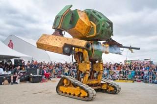 MegaBots, Giant Robot Duel, Robotics, Futuristic Sport