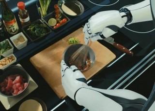 Futuristic Kitchen, Moley Robotics, Robotic Kitchen