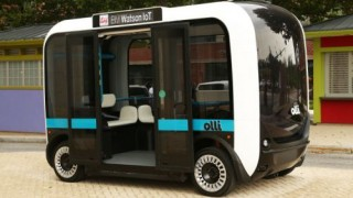 Futuristic Vehicles, Olli, Driverless Bus, Local Motors, Self-Driving Vehicle, Autonomous Vehicle