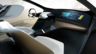 BMW, Hologram Dashboard, CES 2017, HoloActive, Futuristic Concept Car Interior, Self-Driving Car, Holographic Technology, Gesture Control, Autonomous Vehicle