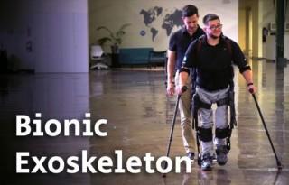 Bionic Exoskeleton, Paralyzed, Bionic Suit, Future Medicine, Robotics, Health