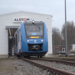 Alstom, Hydrogen Train, Coradia iLint, Green Future, Futuristic Train, Electric Vehicle, Zero Emissions Train