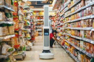 Futuristic Shop - Meet Tally - The World's First Fully Autonomous Robotic Shelf Auditing & Analytics Solution for Retail