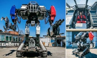 MegaBot, AMERICA'S GIANT FIGHTING ROBOT, Futuristic Sport, Giant Robot Duel, The Future of Robotics