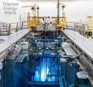 Thorium Reactor. Is the future of nuclear power molten salt? The Future of Energy, Thorium-Salt Reactor, Dutch firm NRG